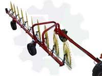 Грабли-ворошилки колесно-пальцевые GSR-10