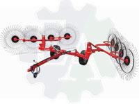 Грабли-ворошилки колесно-пальцевые V-образные GCR-16