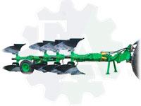 Плуг 4-х корпусный оборотный полунавесной ПОПГ-4-40 с пневмогидрозащитой