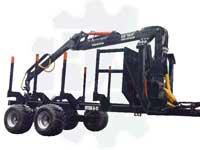 Машина транспортно-погрузочная лесная МТПЛ 5-11-14тонн (с гидравлическим приводом - тип 2WD)