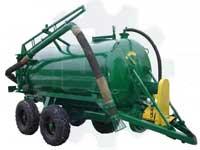 Вакуумная бочка полуприцепная тракторная универсальная РЖТ-4М
