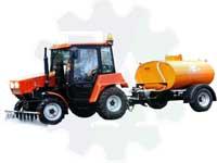Прицеп цистерна поливомоечный тракторный ОПМ-21-Т (ВЫСОКОЕ ДАВЛЕНИЕ)