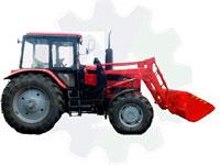 Погрузчик снега фронтальный (трактор мтз) или с передним отвалом ПФС-1221Б