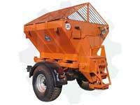 Прицеп пескоразбрасыватель на трактор МТЗ 82 -  РП-3,0