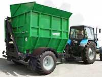 Полуприцеп для перевозки кукурузных початков ППК-10