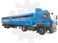 Полуприцеп автомобильный одноярусный САТ-47К (скотовоз)