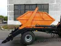 Мусоровоз бункеровоз для трактора ППСТ-6