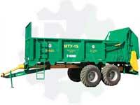 Машина для внесения твердых органических удобрений МТУ-15