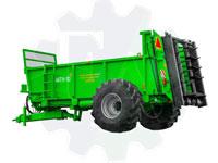 Машина для внесения твердых органических удобрений МТУ-10