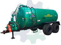Машина для внесения жидких удобрений МЖУ-11 (с устройством перемешивания)