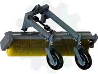 Щетка коммунальная дорожная тракторная МК-2 для МТЗ 82