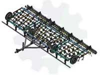Культиватор предпосевной КПМ-4П / 6П / 8П / 10П / 12П
